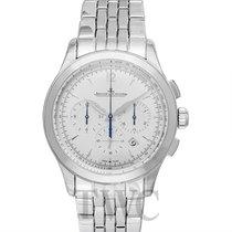예거 르쿨트르 (Jaeger-LeCoultre) Master Chronograph Silver Stainless...