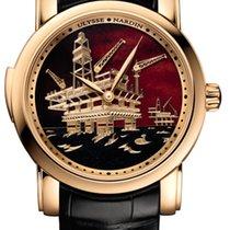 Ulysse Nardin Classic Minute Repeater 736-61/E2-OIL Ulysse Ripetitore Minuti Oro Rosa Champlevè nuovo
