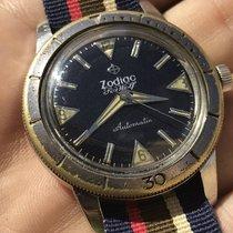 Zodiac Seawolf - Black Dial, No Date - Automatic 20ATM Vintage...