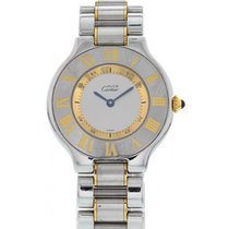 Cartier 21 Must de Cartier Steel 31mm Silver United States of America, New York, New York