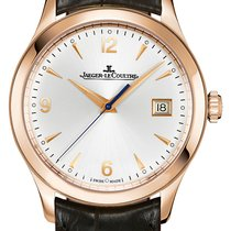 Jaeger-LeCoultre Master Control Date Rose gold 39mm Silver Arabic numerals United States of America, New York, New York