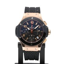 Hublot Rose gold Automatic Black Arabic numerals 41mm pre-owned Big Bang 41 mm