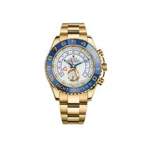 Rolex Yacht-Master II Yellow Gold Hour and Minite Blue