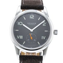 NOMOS Club 38 Campus Nacht 736 Watch with Leather Bracelet and...