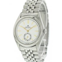 Rolex Bubble Back Steel 36mm White United States of America, New York, New York