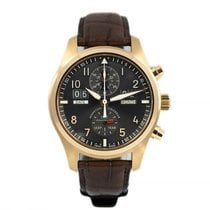 IWC Pilot Spitfire Perpetual Calendar Digital Date-Month Rose gold 46mm Grey Arabic numerals