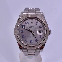 Rolex Datejust II Steel 41mm Silver Arabic numerals