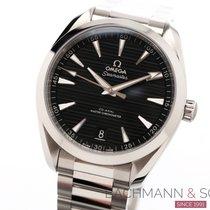 Omega Seamaster Aqua Terra Steel 41mm Black No numerals