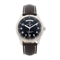 Breitling Navitimer 8 pre-owned 41mm Black Date Leather