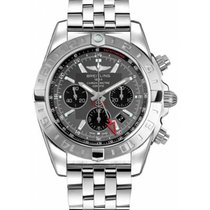Breitling Chronomat 44 GMT Zeljezo 44mm Siv Bez brojeva