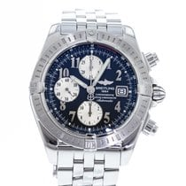 Breitling Chronomat Evolution Steel 44mm Black United States of America, Georgia, Atlanta
