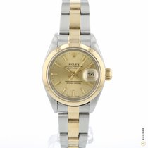 Rolex Oyster Perpetual Lady Date Gold/Stahl 26mm Gold