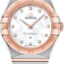 Omega Constellation neu 2020 Quarz Uhr mit Original-Box und Original-Papieren 131.20.25.60.55.001