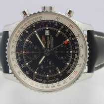 Breitling Navitimer World A24322 Very good Steel 46mm Automatic