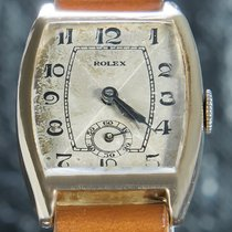 Rolex Rosa guld 25mm Sølv Arabertal