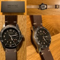 Bremont Supermarine Acier 40mm Noir Arabes