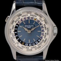 Patek Philippe World Time 5110P-001 2005 pre-owned