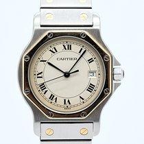 Cartier Santos (submodel) Gold/Stahl 30mm Champagnerfarben Deutschland, Berlin