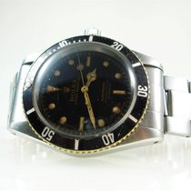 Rolex Submariner 6538 BIG CROWN 4-liner B/P 1958