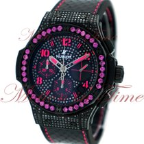 "Hublot Big Bang 41mm Fluo ""Pink"", Black Diamond Dial,..."