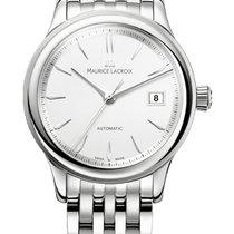 Maurice Lacroix Les Classique Date, Silver Index White Dial,...