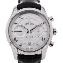 Omega De Ville Co-Axial Chronograph 42mm Silver