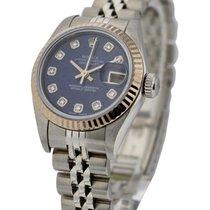 Rolex Used 79174_used_Sodalite_DD Steel Datejust 26mm Ref...