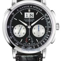 A. Lange & Söhne Datograph Platinum 41mm Black United States of America, New York, Airmont