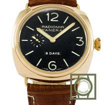 Panerai Radiomir 8 Days Pink Gold Manual Sandwich dial pam197 NEW
