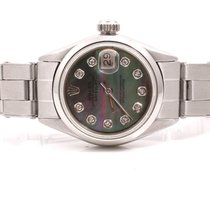 Rolex Ladies Stainless Steel Datejust - Tahitian Diamond Dial...