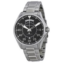 Hamilton Pilot Day Date Stainless Steel Mens Watch H64615135