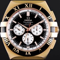 Omega Constellation Double Eagle Rose gold 41mm