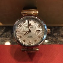 Omega De Ville Ladymatic (Sedna Rose Gold and Stainless)
