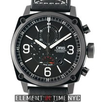 Oris BC4 Chronograph DLC Coated Steel 45mm Black Dial