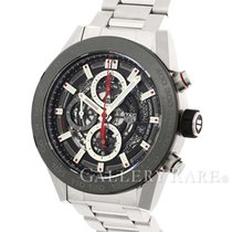 태그호이어 (TAG Heuer) Carrera Calibre HEUER 01 Ceramic Bezel Steel...