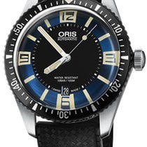 Oris Steel Automatic Blue 40mm new Divers Sixty Five