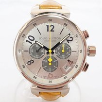Louis Vuitton White gold 41mm Automatic Q11430 pre-owned