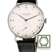 NOMOS Metro Neomatik Steel 35mm White