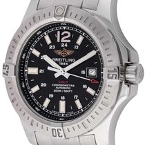 Breitling : Colt Auto :   A1738811/BD44 :  Stainless Steel