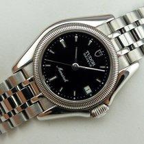 Tudor Monarch Steel 27mm Black No numerals