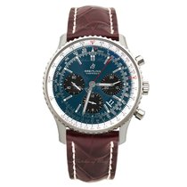 Breitling AB0121211C1P2 Staal Navitimer 1 B01 Chronograph 43 43mm nieuw