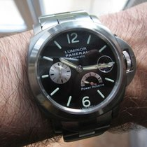 Panerai Luminor Power Reserve Titan 44mm Schwarz Arabisch Deutschland, Kösching