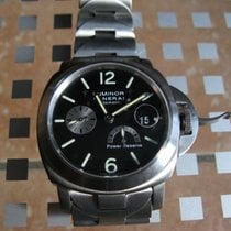 Panerai Luminor Power Reserve occasion 44mm Noir Date Titane