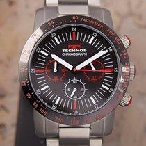 Technos Chronograaf 43mm Quartz 2000 tweedehands Zwart