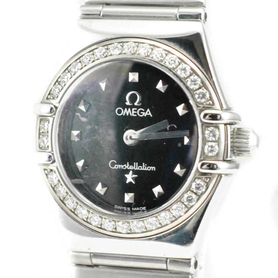 Omega Constellation My Choice 1465.51.00 0.60ct Diamond Bezel... za ... a510d29da72