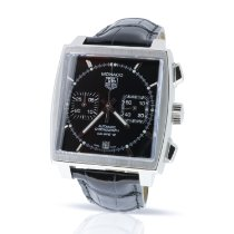 TAG Heuer Monaco Calibre 12 Steel 39mm Black United Kingdom, London
