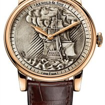 Arnold & Son Rose gold 40mm Manual winding 1LCAP.S05A.C111A new