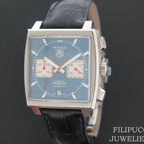 TAG Heuer Monaco Calibre 12 Staal 40mm Blauw Nederland, Maastricht