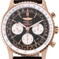 Breitling Rose gold Automatic 43mm pre-owned Navitimer 01