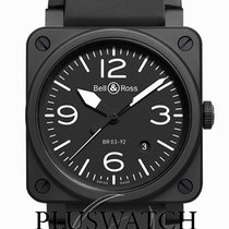 Bell & Ross BR 03-92 Ceramic BR0392-BL-CE 2019 new